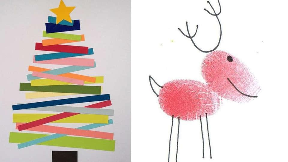 10 Cute Diy Christmas Cards So Simple I Could Make Them