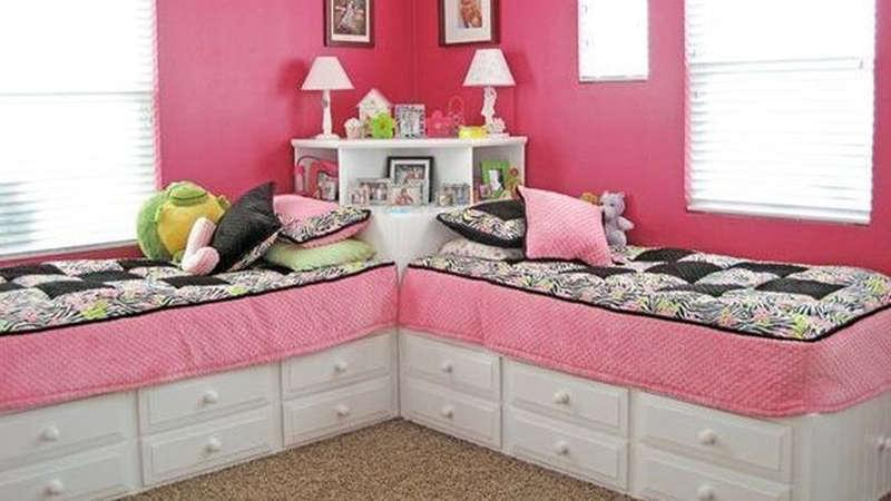 7 space saving shared kids bedroom ideas kinderling kids - Space saving bedroom ideas ...