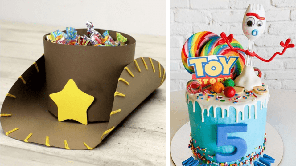 Incredible 10 Ideas To Take A Toy Story Birthday Party To Infinity And Beyond Personalised Birthday Cards Fashionlily Jamesorg