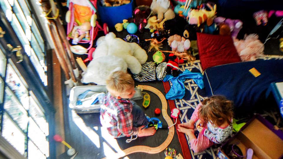 9034940a095 13 resourceful hacks for organising toys — Kinderling Kids Radio ...