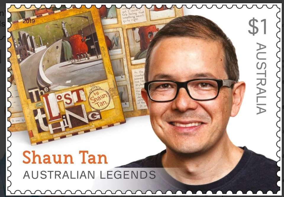 5 cool new stamps that celebrate our fave Aussie children's book