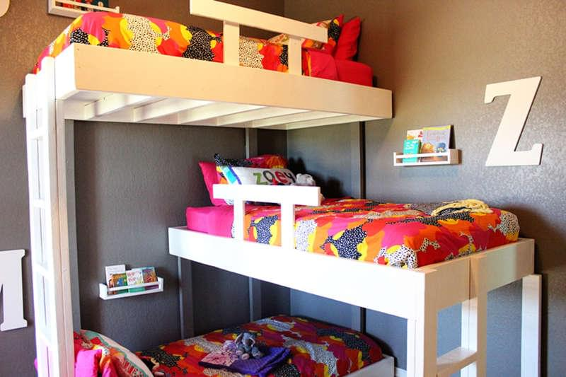 7 Space Saving Shared Kids Bedroom Ideas Kinderling Kids Radio