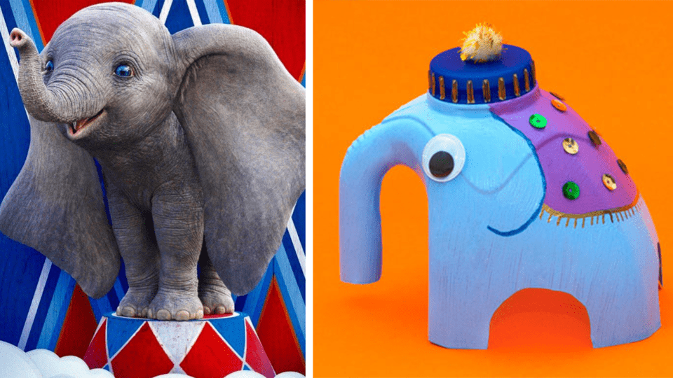 6 Easy Elephant Crafts To Get Kids Excited For The New Dumbo Movie