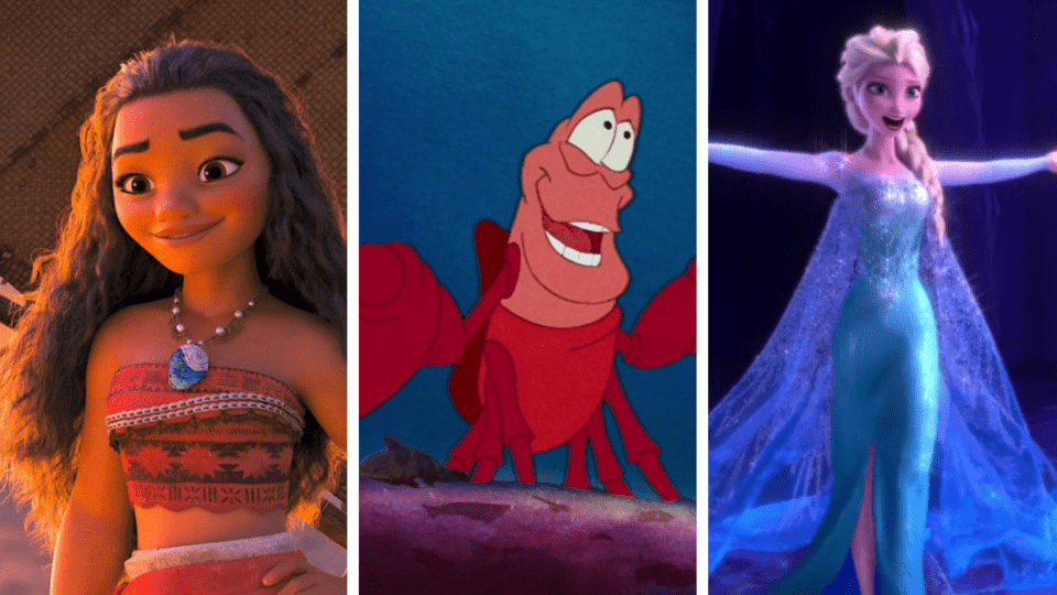 Spotify has revealed its 50 most popular Disney songs