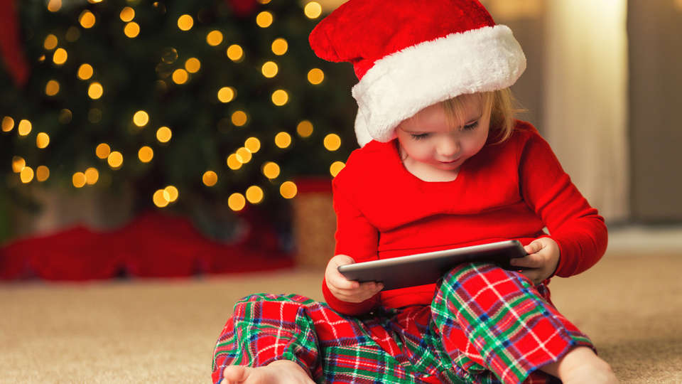 it doesnt take much for kids to be excited for christmas the sparkling decorations the idea of santa and the promise of presents are all sufficient to - Free Christmas Apps