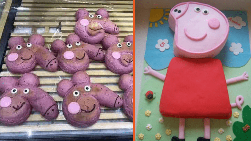 7 Baking Fails That Prove You Should Never Attempt A Peppa Pig Cake