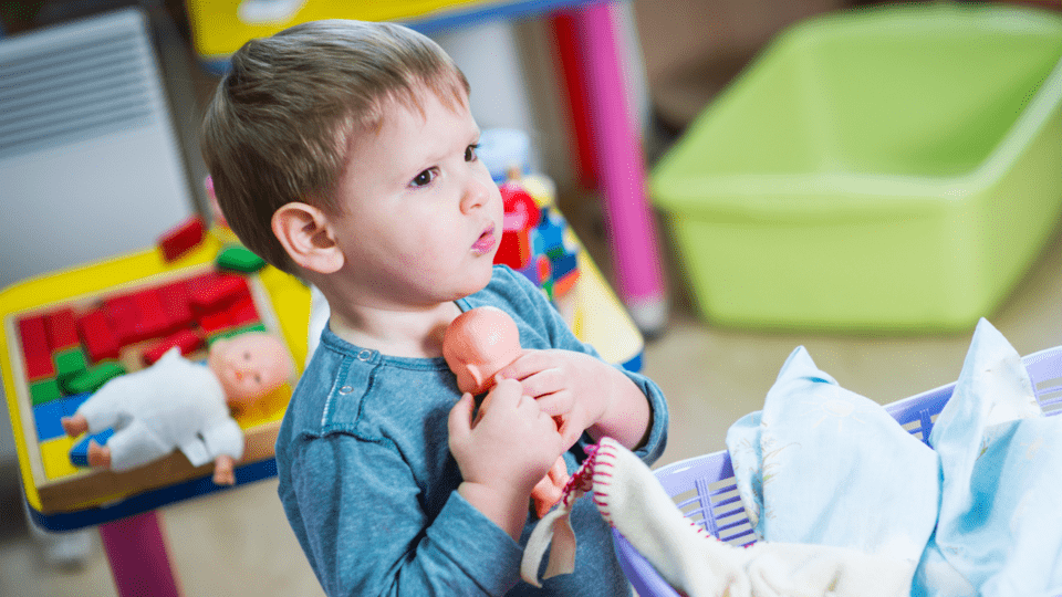 Why Would Anyone Let Their Kid Play >> Let Boys Play With Dolls End Of Story Kinderling Kids Radio